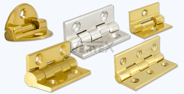 Solid Extruded Brass Hinges Bolts And Other Hardware